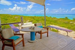 Private deck - Anegada Beach Club