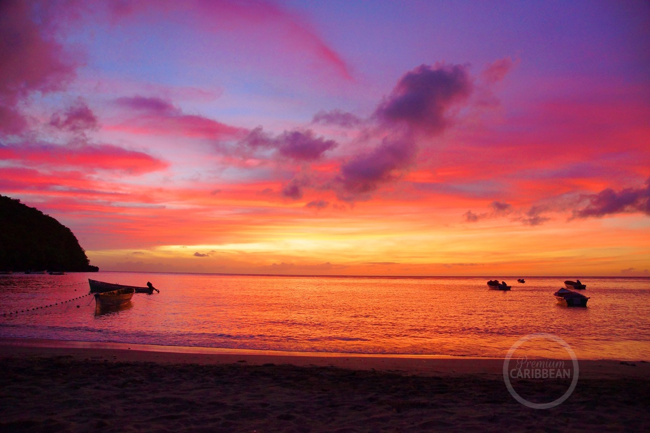 Martinique sunset zonsondergang